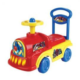 1TOY Машина-каталка  Spider-Man  (локомотив) (желтый)